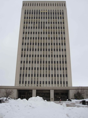 Regina City Hall Feb 22, 2010