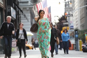 Sridevi conquers America in English Vinglish.