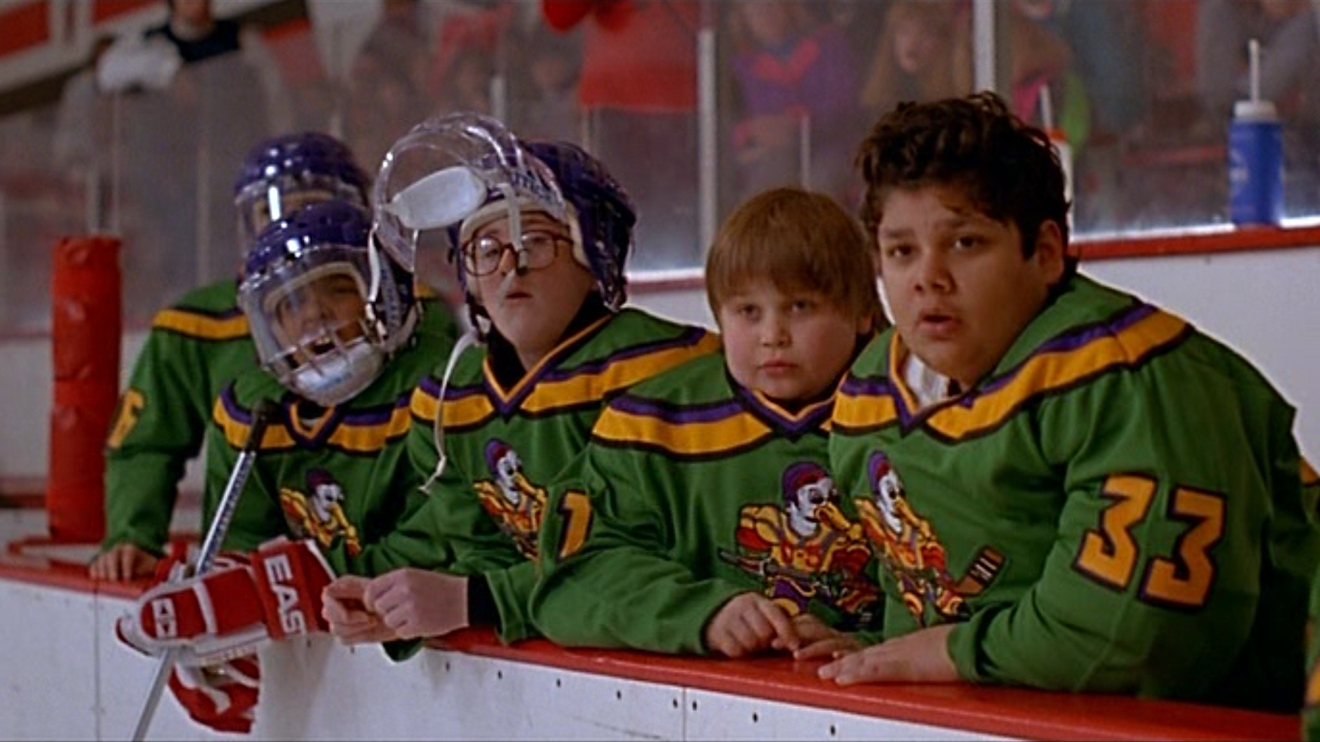mighty ducks movie critique The mighty ducks (1992) -- simplistic hockey fun for kids, 7/10 sign up for your free netflix trial: tweet a review with t.