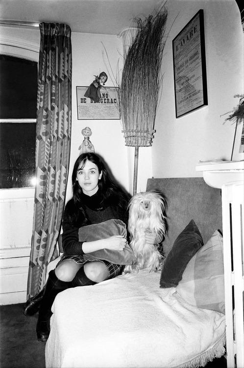 Isabelle Adjani, 1970s.