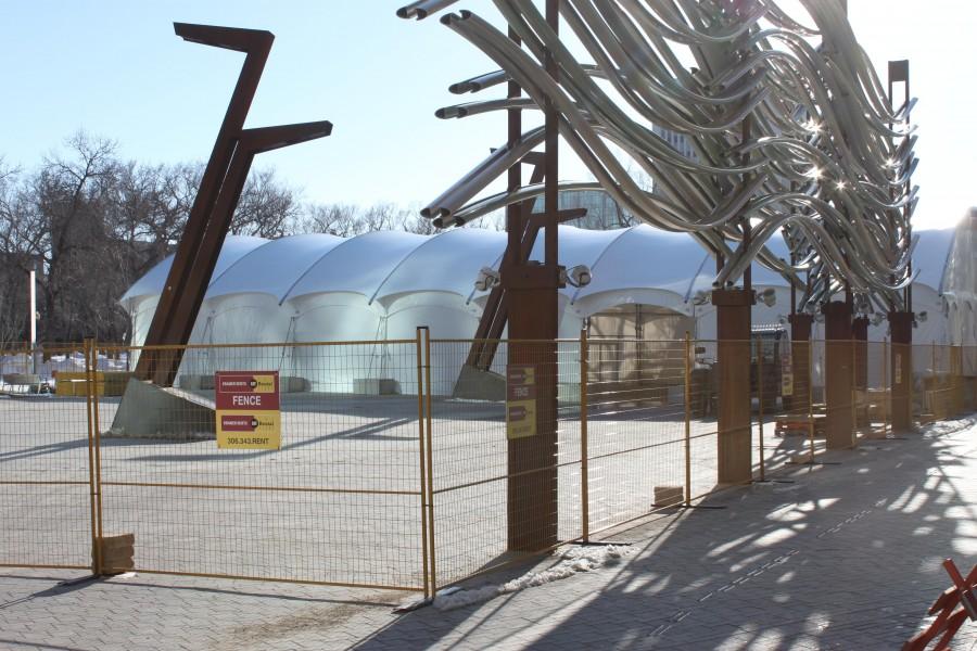 Plaza Tent
