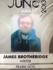James Brotheridge, Writer
