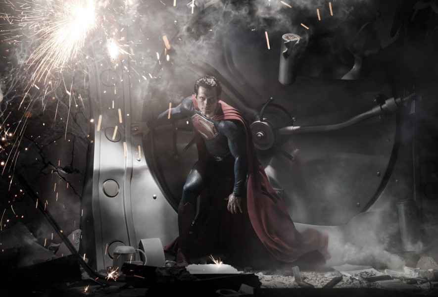 man of steel publicity still