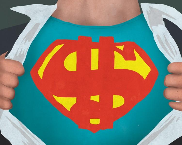 Superman money
