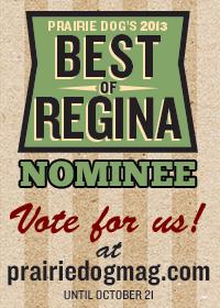 Best of Regina 2013 badge 2