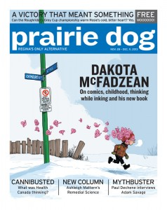 2013-11-28 cover - by Dakota McFadzean