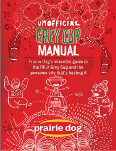 Grey Cup cover by Myron Campbell