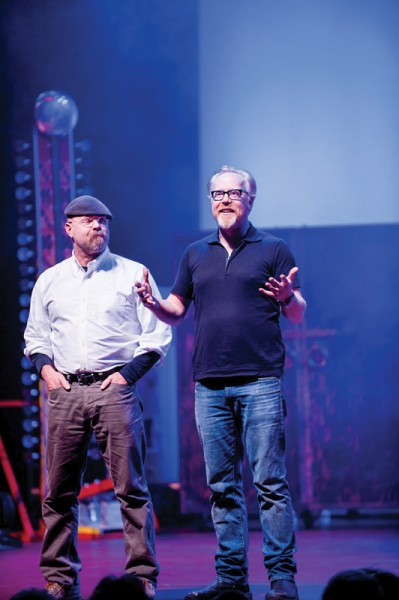 Mythbusters - photo by David M Allen