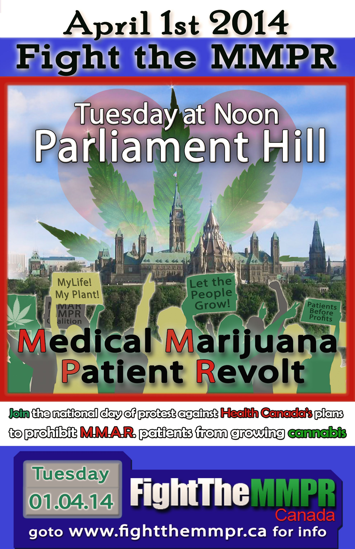 Marijuana Patient Revolt