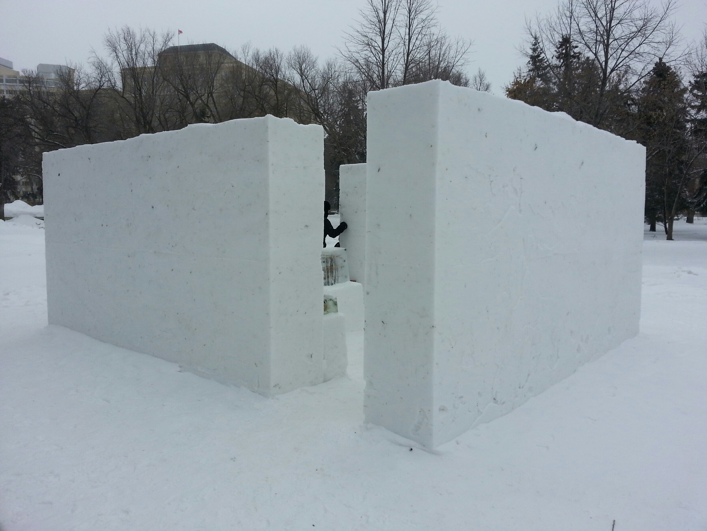 Snow Gallery I