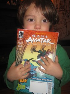 Avatar Free Comic