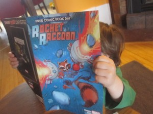 Rocket Raccoon Free Comic