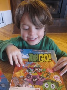 Teen Titans Go Free Comic