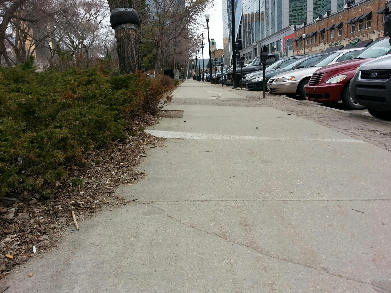 Victoria Park (east sidewalk)