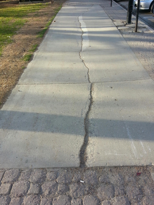 Victoria Park (east sidewalkIII)