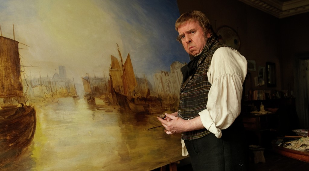 William Turner paints happy boats.
