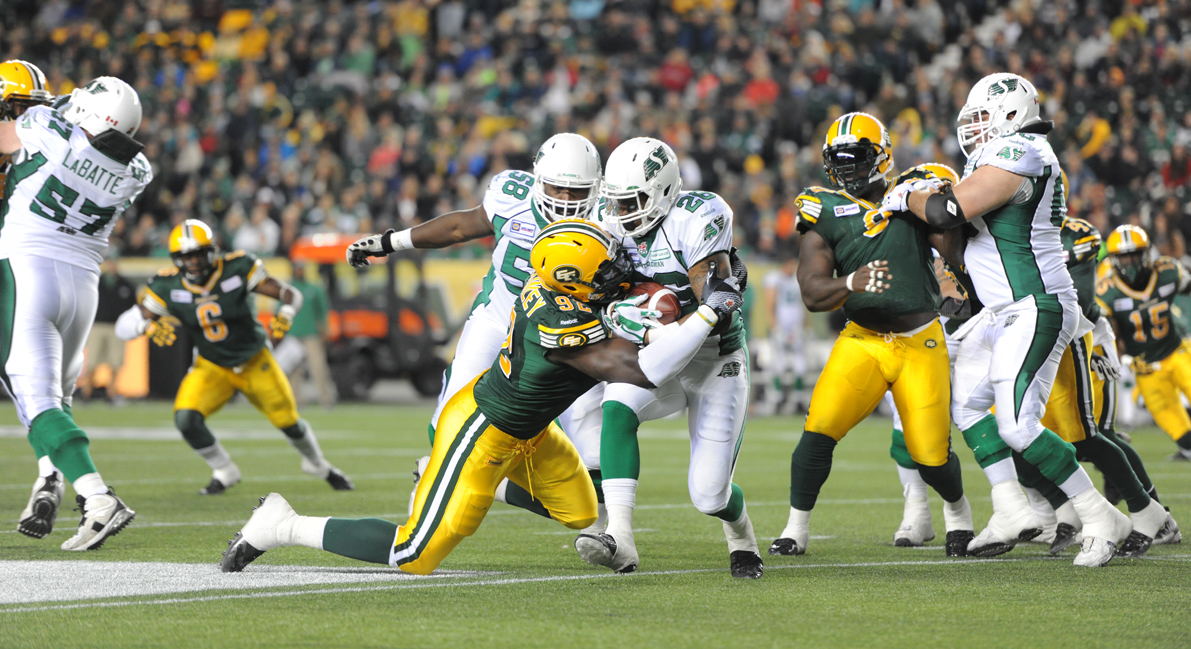 Edmonton vs Riders Sept 27