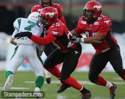 Riders vs Stamps (west final)