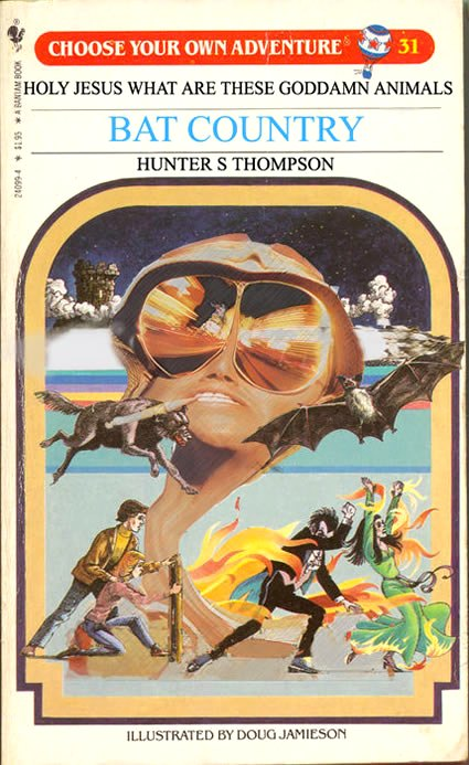 Choose Your Own Adventure (Hunter S Batson)