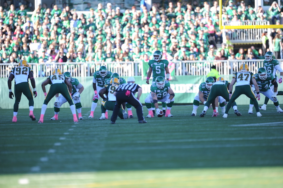 Riders vs Edmonton Oct. 19