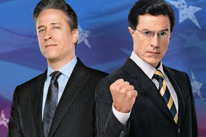 Stewart and Colbert-2