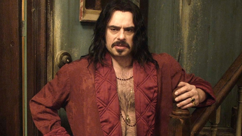 Jemaine Clement flies solo in What We Do in the Shadows.