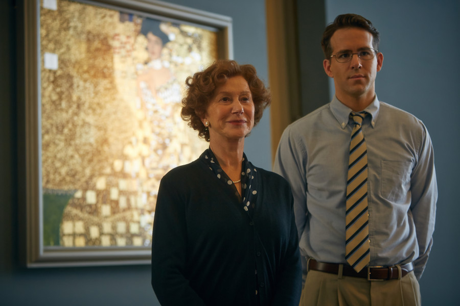 Helen Mirren, Ryan Reynolds and the Woman in Gold in question.
