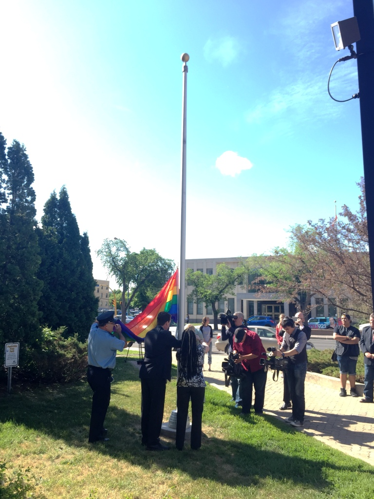 Pride (flag raising)