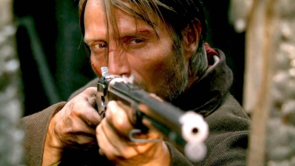 Mikkelsen channels Eastwood in The Salvation.