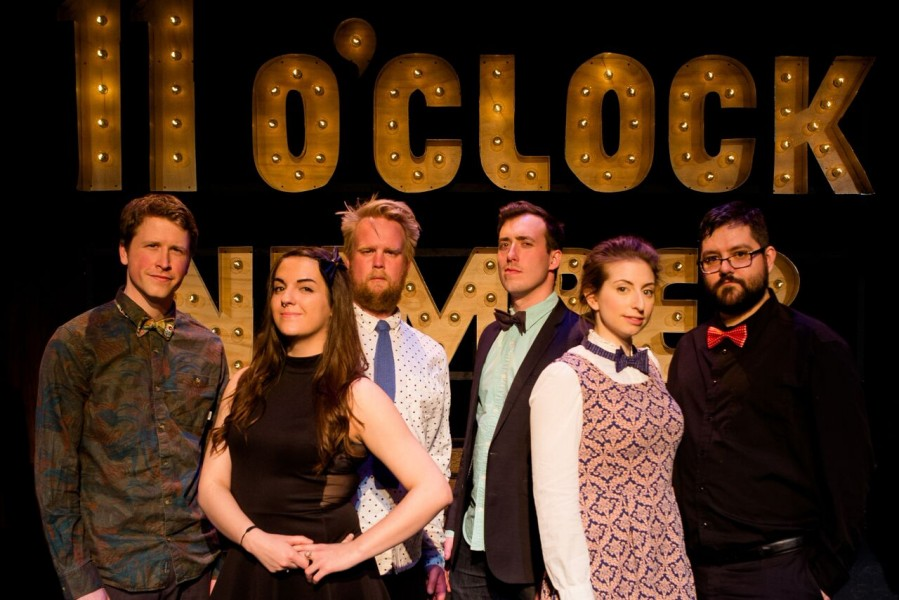 The 11 O'Clock Number, presented by Edmonton's Grindstone Theatre.