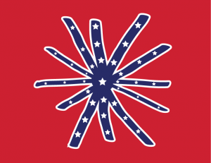 The Redneck Asshole Flag. Also known fondly as the Stars 'n' Farts.