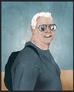 Roland Sweet - Illustration by Myron Campbell