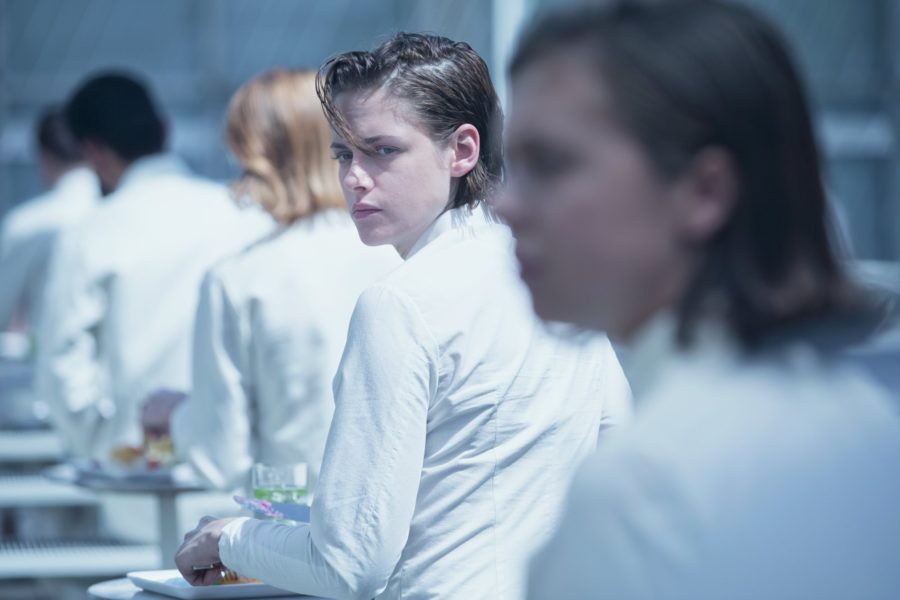 Kristen Stewart's boyish good looks in Equals.