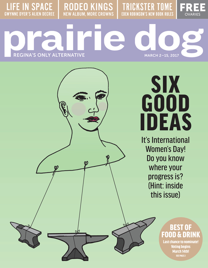 March 2 2017 Prairie Dog cover by Edith Skeard